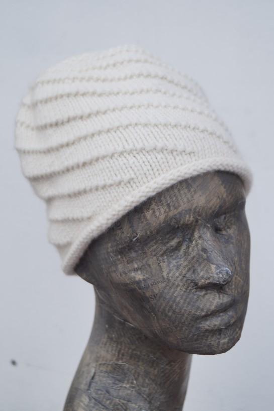 Mütze mit Spiralmuster