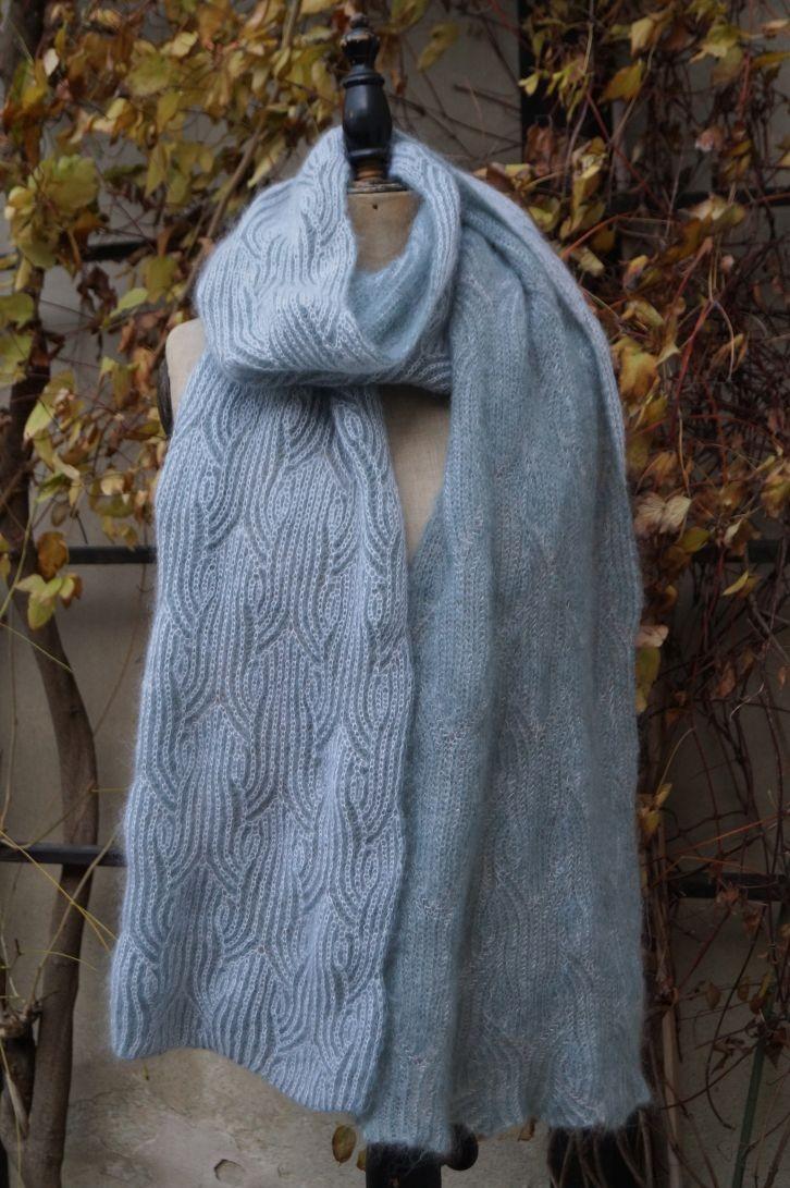 Anleitung Jugendstil Schal